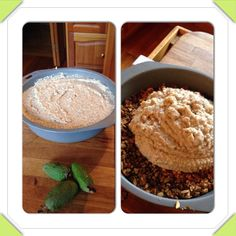 Raw Feijoa cheesecake.  Base - dates, almonds, coconut oil process & freeze Filling - I cup of Feijoa pulp, 1/2 cup each of soaked raw cashews, walnuts, hazelnuts. 1/4 cup of coconut milk, 1/2 cup of coconut oil Process add to base and freeze for hour or two. You can substitute Feijoa for blueberries, mango or peaches.