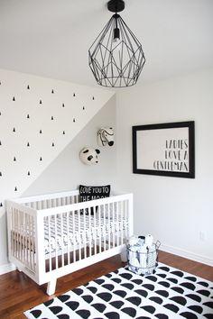 Baby Bedroom, Baby Boy Rooms, Baby Boy Nurseries, Nursery Room, Kids Bedroom, Nursery Decor Boy, Accent Wall Nursery, Baby Nursery Ideas For Boy, Simple Baby Nursery