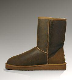 Mens UGG Classic Short Bomber boots 5984