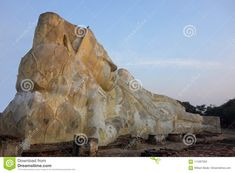Giant Reclining Buddha In Thailand Stock Photo - Image of named, meditation: 114397052 Reclining Buddha, Deep Meditation, Mount Rushmore, Thailand, Stock Photos, Statue, Image, Sculptures, Sculpture