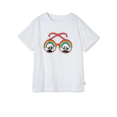 Shop the Arlo Sunglasses Print T Shirt by Stella Mccartney Kids at the official online store. Discover all product information.