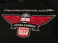 2016 Ottawa-Gatineau International Auto Show Basic Tee to be featured at the show this weekend! Cavaliers Logo, Ottawa, Team Logo, Tees, T Shirts, Teas, Shirts
