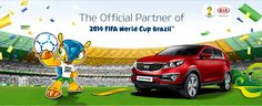 The Official Partner of  2014 FIFA CUp