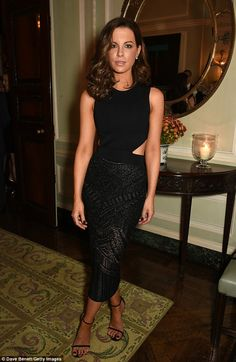 Stunning: Kate Beckinsale wowed  as she attended The Academy Of Motion Pictures Arts & Sci...