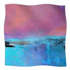 East Urban Home Versailles-Abstract by Oriana Cordero Fleece Blanket Size: 80'' L x 60'' W