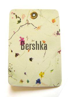 Bershka #hangtag Tag Design, Paper Design, Graphic Design, Fashion Tag, Fashion Labels, Card Tags, Cards, Portfolio Logo, Textiles