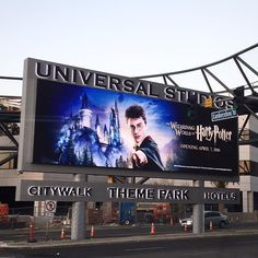 Wizarding World of #HarryPotter now open at #UniversalStudios Hollywood.