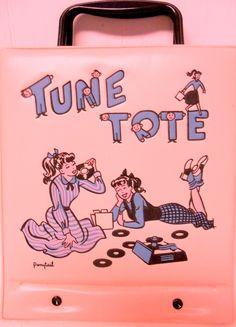 Vintage Tune Tote by ponytail dateline