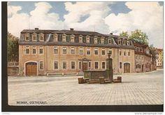 440. Germany, Weimar - Goethehaus - Verlag Hoflieferant Pfannstiel-Weimar