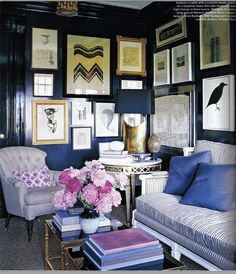 nate berkus wall photos