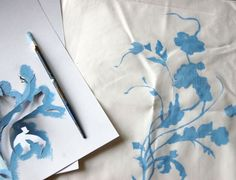 DIY Project: China Pattern Pillows | Design*Sponge