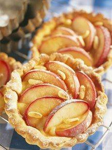 Amaretto Peach Tart Recipe