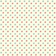 free digital floral scrapbooking paper: printable DIY wrapping paper