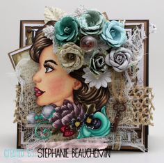 A World of Creative Possibilities: Bloom Girl stamps : Sophie