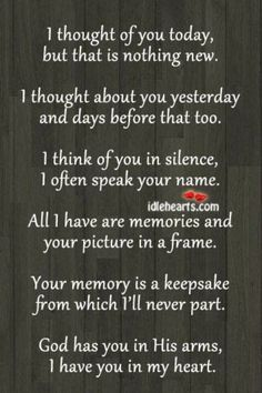remembrance of one year anniversary of death - Google Search