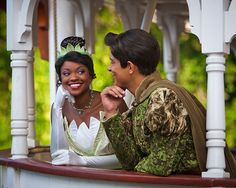 Prince Naveen and Princess Tiana - The 8 Most Adored Disney Couples to Meet on Valentine's Day at the Disney Parks.