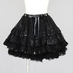 FRILL Volume Pannier Skirt