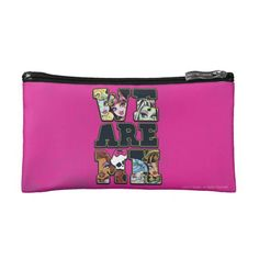 We Are #MonsterHigh Cosmetic Bags