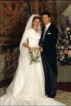 Liechtenstein - 1993 Prince Alois & Duchess Sophie in Bavaria