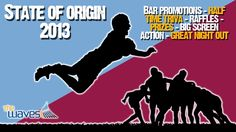 State of Origin Image. Would you like a design like this for your business? Email: art3sian@gmail.com