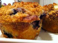 Incredibly Moist Blueberry Muffins