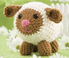 Sheep Amigurumi ~ Free Russian Pattern