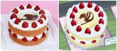 Fairy Tail Fantasia Cake from Nerdy Nummies
