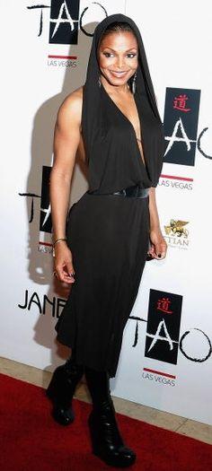 Janet Jackson at The Tao Las Vegas One-Year Anniversary Celebration September 2006
