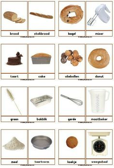 Woordkaarten bakker Fall Preschool, Preschool Lessons, Learn Dutch, Vocational Skills, German Grammar, Dutch Language, Creative Curriculum, Dutch Recipes, Montessori Materials