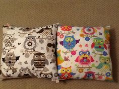 Owls Browns and multi-coloured