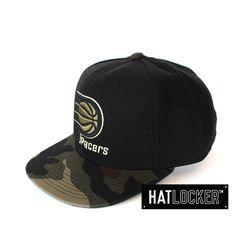 Indiana Pacers Combat Snapback by Mitchell & Ness   www.hatlocker.com #mitchellness #nba #indiana #pacers #snapback