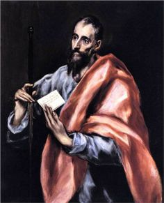 El Greco Apostle St Paul hand painted oil painting reproduction on canvas by artist Spanish Painters, Spanish Artists, Powerful Bible Prayers, Famous Artists, Great Artists, Toledo Cathedral, Early Christian, Christian Life, Oil Painting Reproductions