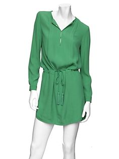 DVF jade shirt dress