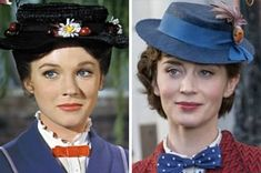 """Here's What The """"Mary Poppins Returns"""" Cast Looks Like Compared To The Original Mary Poppins Returns Cast, Mary Poppins Characters, Emily Blunt Mary Poppins, Halloween 2019, Halloween Costumes, Karen Dotrice, Matthew Garber, Disney Play, Disney Magic"""