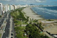 Panoramic_View_of_Santos  The beach gardens of Santos