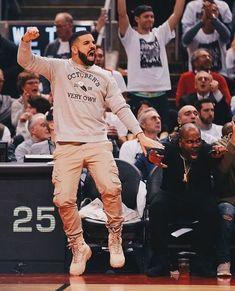 the hype is real😍❤️ Drake Fashion, Nba Fashion, Mens Fashion, Fashion Outfits, Look Hip Hop, Drake Rapper, Drake Clothing, Drake Photos, Drake Wallpapers