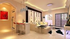 elegant bar room