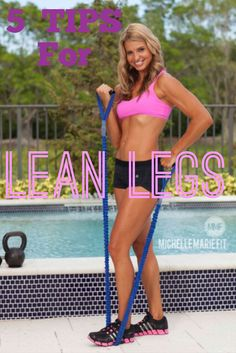 #Exercises For #Women For Legs & Glutes. These 5 tips will help make the BEST Leg SLIMMING Workouts to tone the #THIGHS. http://michellemariefit.publishpath.com/exercises-for-legs-glutes
