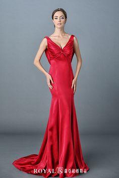 秋醒。紅色巧思 - Dresses / Formal Wedding - TaipeiRoyalWed.tw 台北蘿亞結婚精品