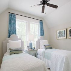 SL Inspired Home at Habersham: The Twin Bedroom