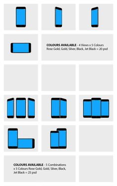 iPhone 7 Mockups in 5 colors & bonus in-hand mockups Keynote, Mockup, Iphone 7, Presentation, Photoshop, Colors, Tips, Advice, Colour