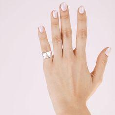 ON THE SIX 💿 #handoftheday #simplicity #details Appreciation, Sterling Silver, Munich, Instagram Posts, Jewellery, Fashion, Bangle Bracelet, Ear Piercings, Schmuck