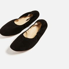 SOFT LEATHER BALLERINAS