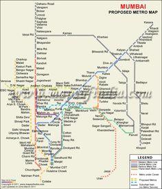 Mumbai Subway Map.18 Best Mumbai Metro Images Mumbai Metro Transportation Blues
