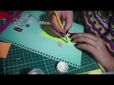 COMO FAZER POST IT SEM FITA DUPLA FACE - YouTube