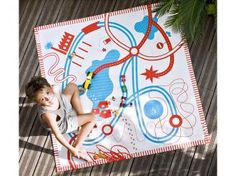 playmat -- make with freezer paper stenciling?