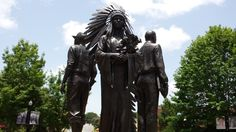 Integration statue at Oglesby Union at Florida State University