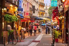 Shops tourists Rue S