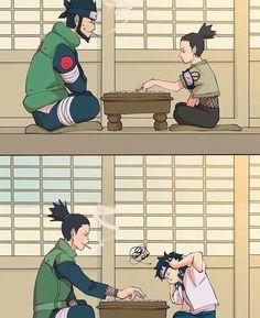 Asuma and Shikamaru & Shikamaru and Mirai ||Naruto|| ||Naruto Shippuuden||