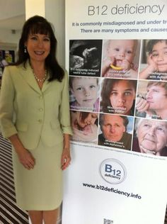 US expert, Sally Pacholok, presents on rampant B12 deficiency and misdiagnosis in mainstream healthcare